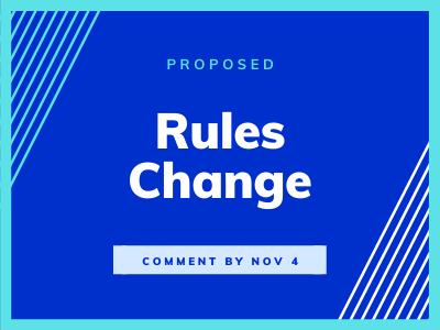 Rules Change
